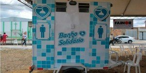 Empresario crea un Baño Solidario para la gente