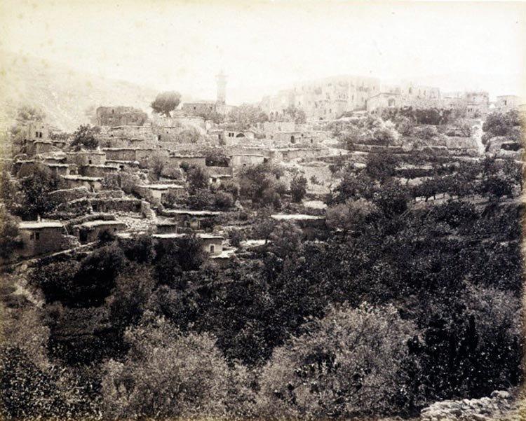 Jerusalén en 1862: No hay mezquitas ni palestinos