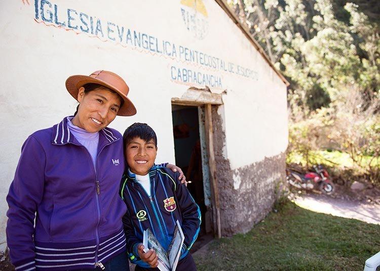 La Iglesia quechua está siendo transformada