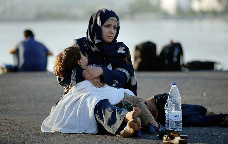 Milagros entre sirios que luchan por sobrevivir