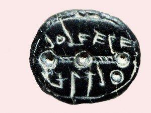 Hallan un sello de 2.500 años en Jerusalén