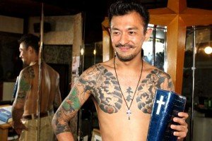 Mafioso japonés que se convierte a Cristo