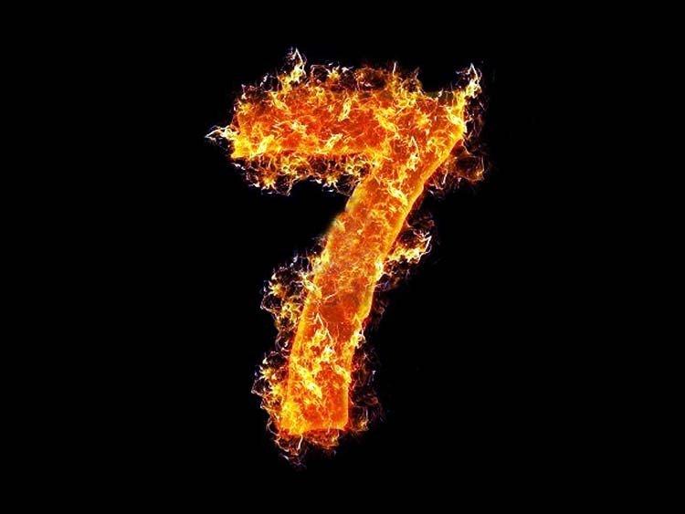 Por qué el número 7 es importante en la Biblia