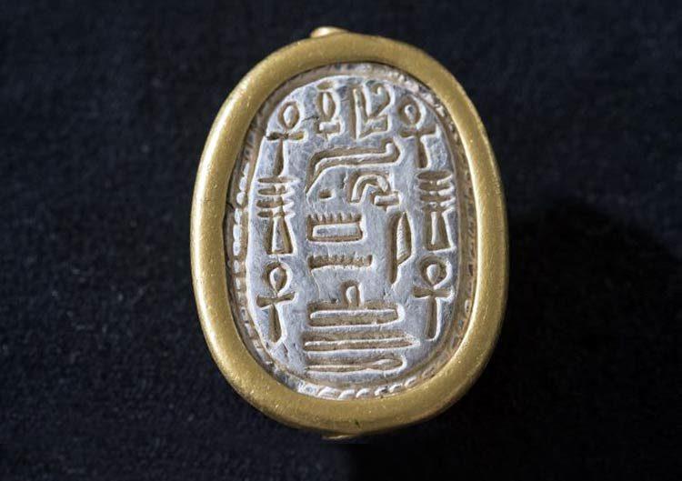 Hallaron un escarabajo egipcio antiguo en Israel