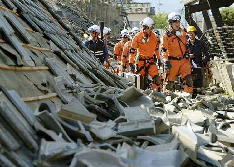 Los milagros siguen en Japón en medio del desastre