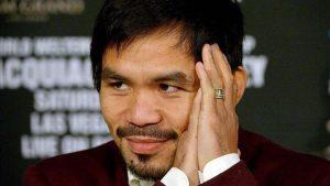 Manny Pacquiao termina dándole toda la Gloria a Dios