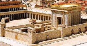 Réplica de Jerusalén bíblica en tamaño real