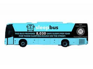 Autobús da lugar seguro para para dormir