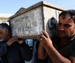 Pastor celebra el funeral de un miembro de ISIS