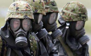 Israel se prepara para amenaza de guerra química