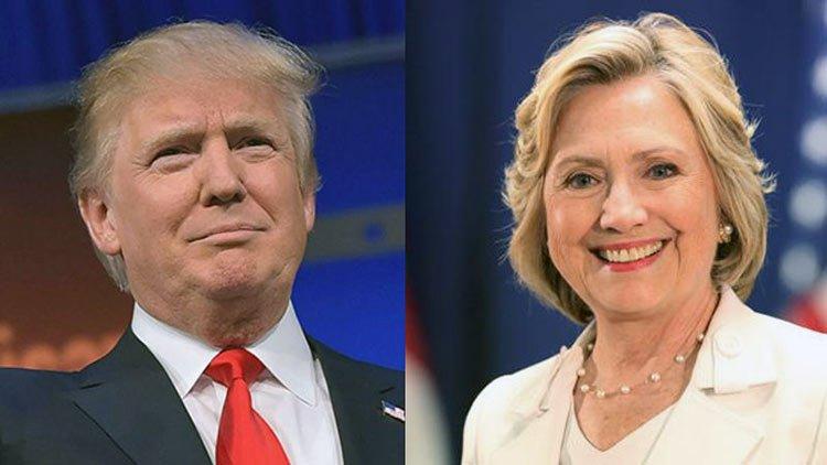 Oremos por Donald Trump y Hillary Clinton