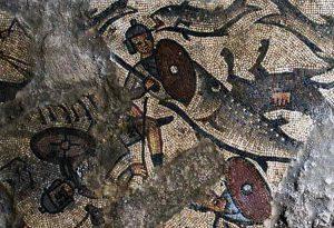 Descubren mosaico del Arca de Noé en Galilea