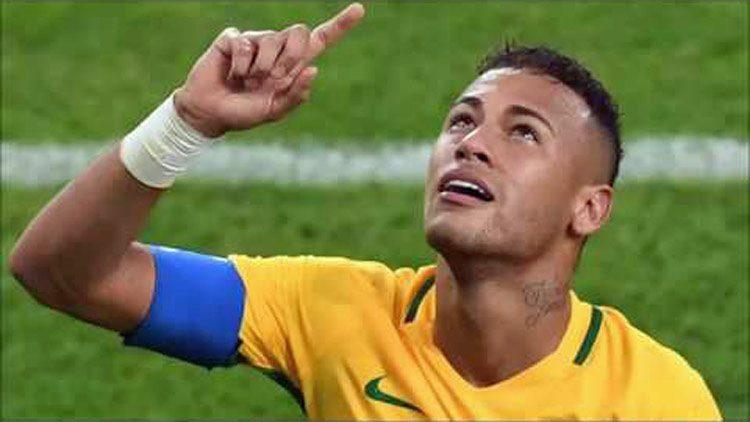 Juegos Olímpicos: Neymar honra Jesús