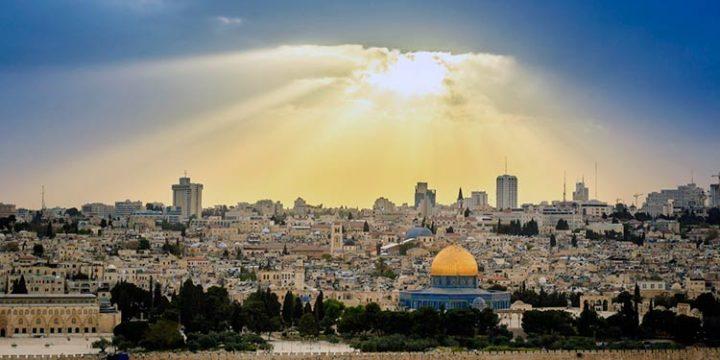 Oyen trompetas en Jerusalem y señales en el cielo