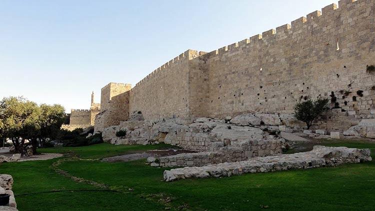 Israel halla muralla en Jerusalen - confirma la biblia