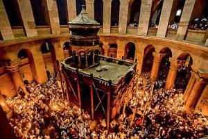 Se revela Santo Sepulcro en Israel por 1ª vez