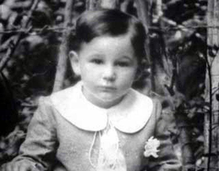 Fidel Castro en su niñez