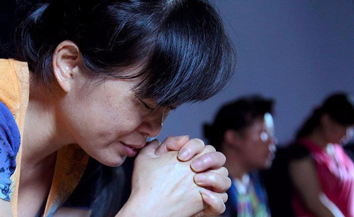 Dentro de Corea del Norte cristianos que prevalecen