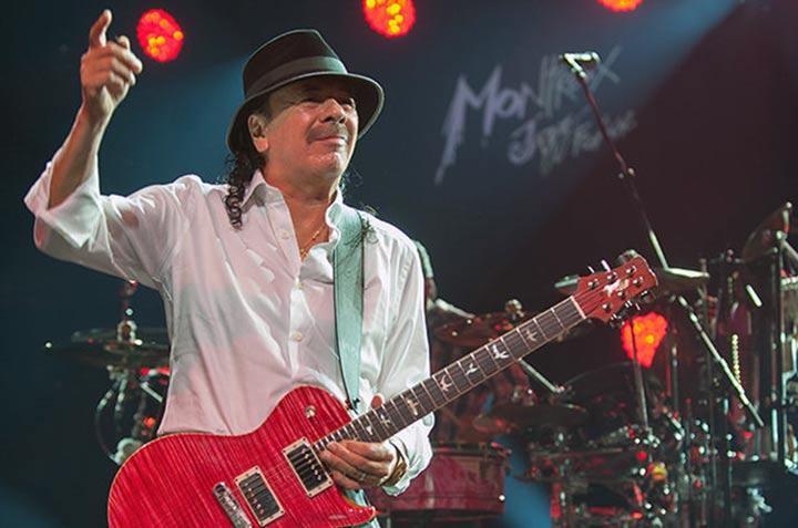 El guitarrista Santana dice cómo Dios lo salvó