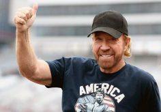 Chuck Norris: la biblia me llevó de nuevo a Cristo