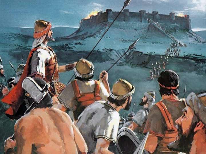 Quienes son los descendientes de los cananeos?