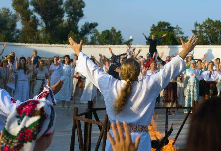 Medio millón de Evangélicos Alaban en Ucrania