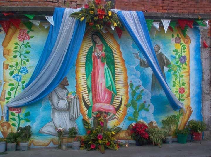 México castigado por causa de la Virgen de Guadalupe