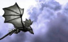Fin de los tiempos: un Dragón volador en Japón