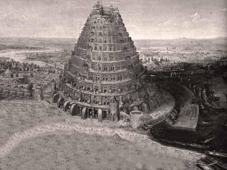 foto de Historia de la torre de Babel Un descubrimiento en