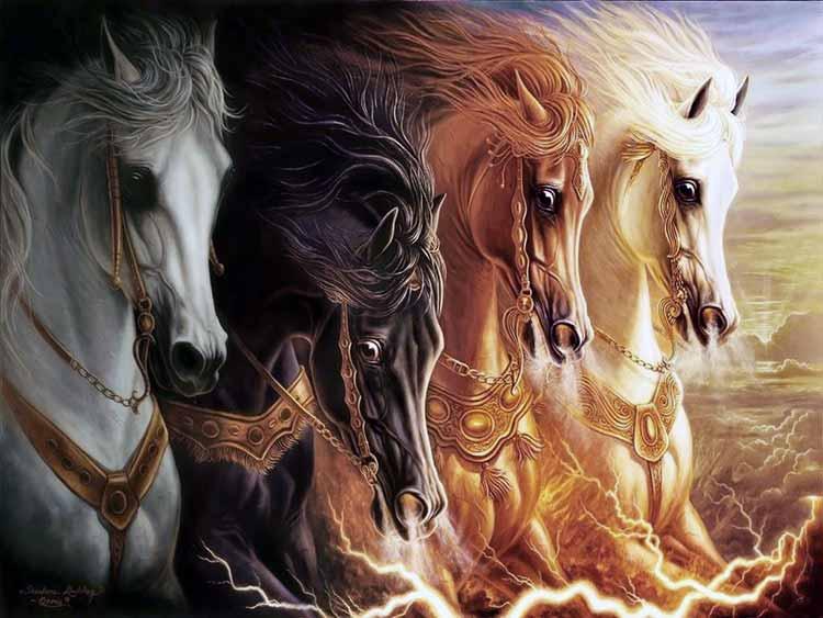 4 caballos del apocalipsis – ¿Cuáles son los cuatro caballos del Apocalipsis y qué significan?