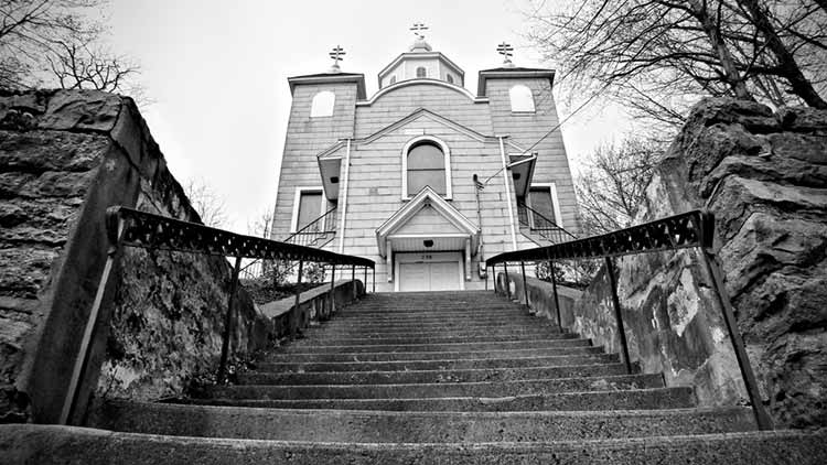 Milagro de la iglesia que no arde en Pensilvania