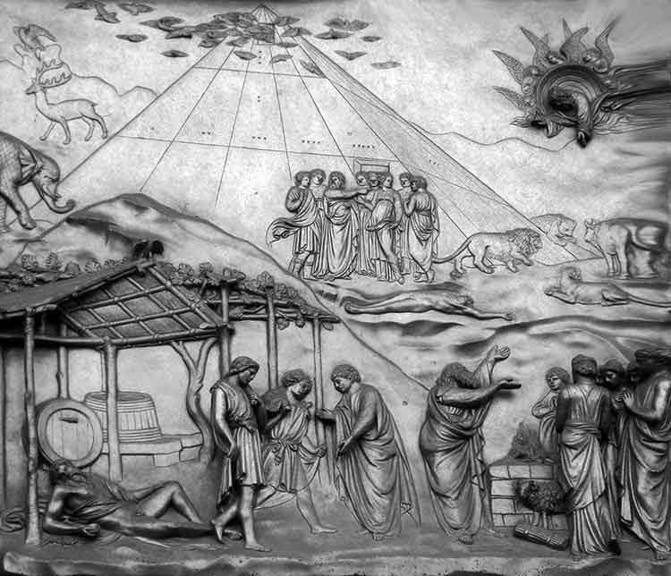 Forma del Arca de Noé - Nuevos fragmentos descifrados